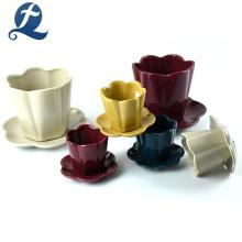 Großhandel kreative Keramik Mini Blumentopf