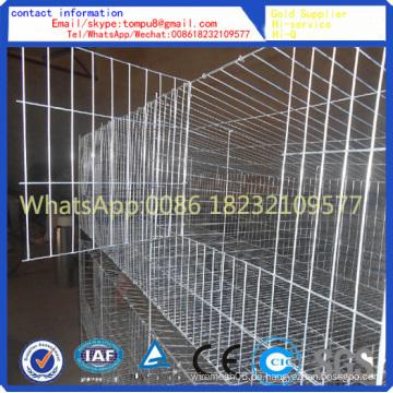 Kaninchenkäfig / Schichtkäfige / Tierkäfig / kann angepasst werden