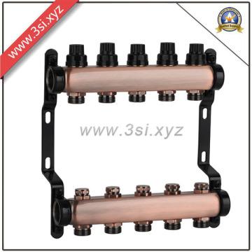 Colector de agua de calidad superior Ss para el sistema de calefacción de piso (YZF-M557)