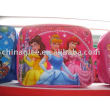 bolsa de ombro bonito dos desenhos animados para crianças