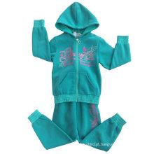 Hoodies da camisola do terno da trilha da forma do lazer na roupa Swg-126 das crianças
