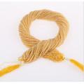 Natur Edelstein Stränge Runde 2mm 3mm Großhandel Gelbe Jade Edelstein