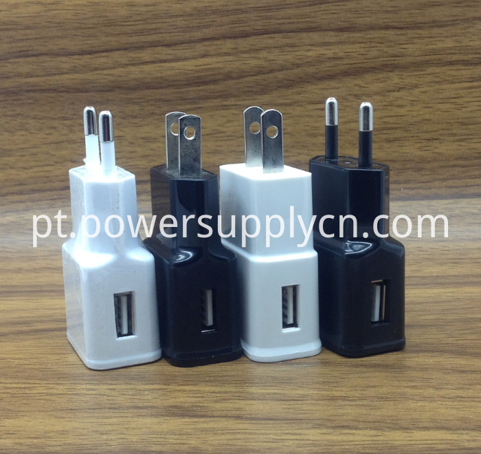US EU Plug 5V2.1A USB Travel Charger