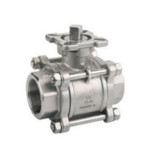 3 Pieces Floating Ball Valve