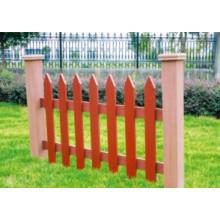 1100 * 800 2014 Eco-Friendly Venda quente de madeira ao ar livre de plástico composto WPC Fence