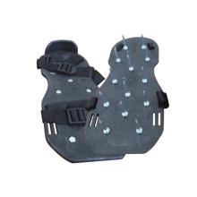 Sapatas cravadas segurança antiderrapantes das correias ajustáveis