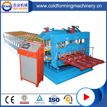 Quality Assurance Glazed Tile Roll Forming Machine