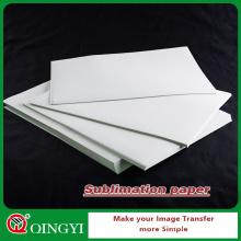 QingYi meilleur papier d'impression de sublimation de prix