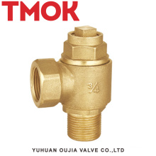 brass high quality ferrule stop valve