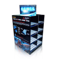 Stylish Pallet Display with 8 Cases, Cardboard Floor Display Stand
