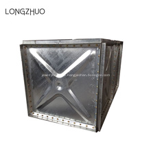 Heiße getauchte galvanisierte Stahlplatten montierter Wassertank
