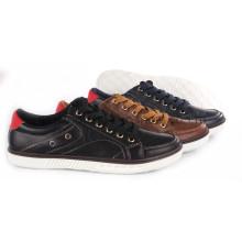 Sapatos de Lazer PU com Sola de Corda Snc-55016