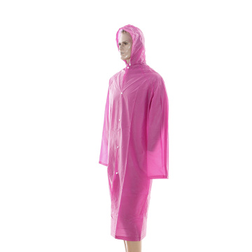 rose long taille pvc riancoat
