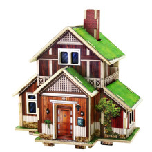 Wood Collectibles Toy for Global Houses-Norway House