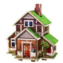 Holz Collectibles Spielzeug für Globale Häuser-Norwegen Haus