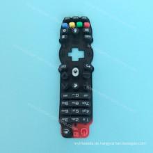 Benutzerdefinierte Bildschirm drucken Silikonkautschuk-Tastatur