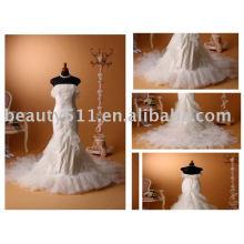 Nuevo vestido weding del vestido del baile de fin de curso del vestido de la dama de honor del vestido de la venta al por mayor del estilo