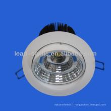15w étincelle haute luminance conduit vers le bas de la lumière