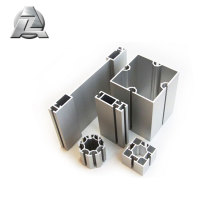 2018 new design anodized extruded hollow aluminum bar