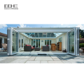 Latest Design Prefab Glass Garden House Sunroom with aluminum extrusion profile