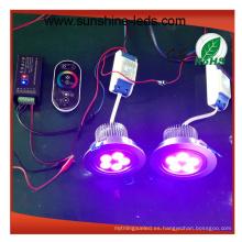 3W / 9W / 15W 27W / 8W RGB / RGBW LED Downlight