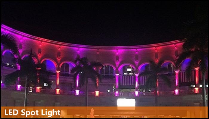 DMX spot light outdoor building effects