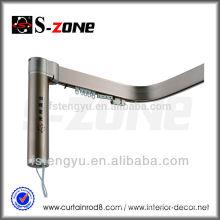 Aluminum Electric Curved Auto Curtain Rail Motor Curtain Rail