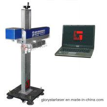 Traitement automatisé machine de marquage laser en ligne avec certificat CE