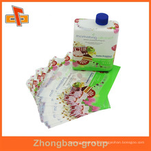 Accept Custom Order and Adhesive Sticker Type pet bottle transparent label with logo