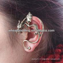 Hot Sale Dragon Ear Bouton Vintage Vintage Earring Ear Clip EC04