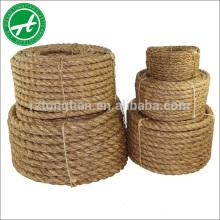 Cuerda de yute natural cuerda de cáñamo para venta por mayor