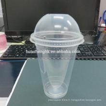 Gobelets en plastique jetables 12/14/16/18/20/24 oz