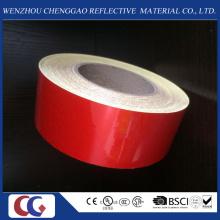 Ruban matériel réfléchissant de qualité de la publicité rouge solide dans l'usine de la Chine