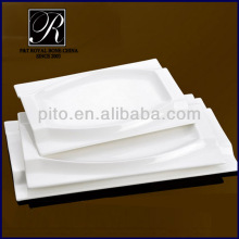 ocean rectangular plate with thicken rim PT2041