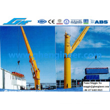 Electric Hydraulic Marine Ship Deck Crane