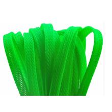 Цветная ПЭТ плетеная расширяемая кабельная гильза