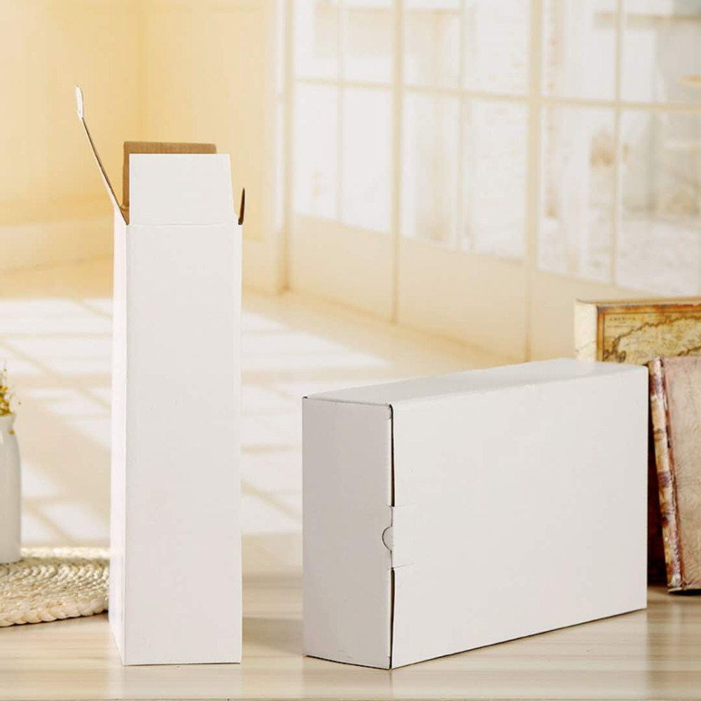 White Corrugated Carton box