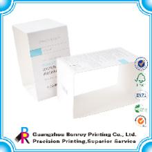 Populäre hochwertige maßgeschneiderte elegante Glossy C1S Kunstdruckpapier Hülse Seife Papier Box