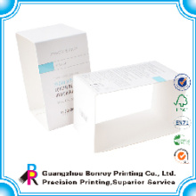 Caja de papel brillante elegante personalizada de alta calidad del jabón de la manga del papel de arte C1S