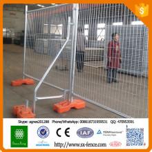 Billig Kanada PVC beschichtet oder Powered beschichtet geschweißt Drahtgeflecht temporäre Zaun