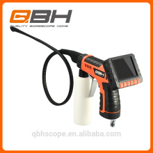 3.5 LCD screen flexbile cleaning borescope with recording video snap shot function