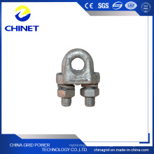 Type de Jk Clip de câble en acier galvanisé (clip métallique en acier)