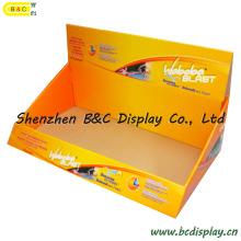 Caja PDQ corrugada, caja de papel, caja SGS, bandeja de salida de papel, caja de presentación PDQ (B & C-D046)
