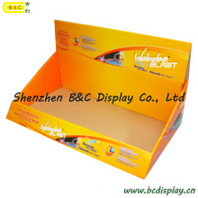 Boîte ondulée de PDQ, boîte de papier, boîte de GV, poubelle de papier, boîte d'affichage de PDQ (B et C-D046)