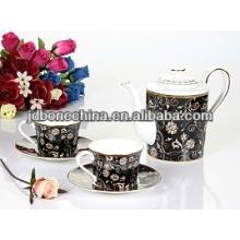 Portador real de la taza de café de la vajilla de la porcelana del estilo de Arabia Saudita de la nueva venta caliente de la llegada