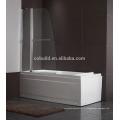 К-539 современные простые 304 из нержавеющей стали ванна экран ливня с сертификатом CE
