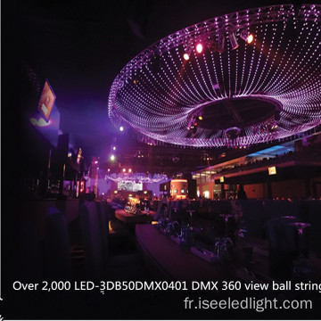 Balle LED RGB LED Milky 50mm adressable