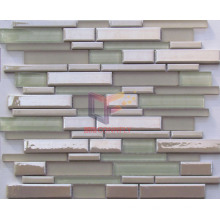 Fresh Color Strip Glass Mosaic (CFS648)