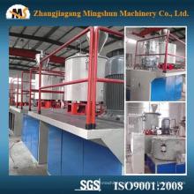 Máquina plástica do misturador da matéria- prima do PVC