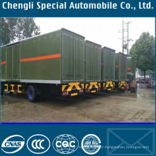 Camion de camionnette de vert militaire de l'armée verte 4X2